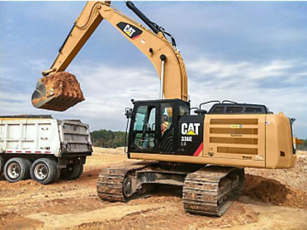 Excavator construction equipment financing